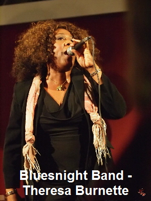 Bluesnight Band - Theresa Burnette